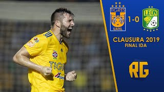 FINAL IDA Tigres vs León 1-0 Liguilla Clausura 2019 Liga Mx