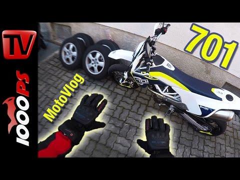 Husqvarna 701 Supermoto Test | K.OTs Motovlog - 60FPS