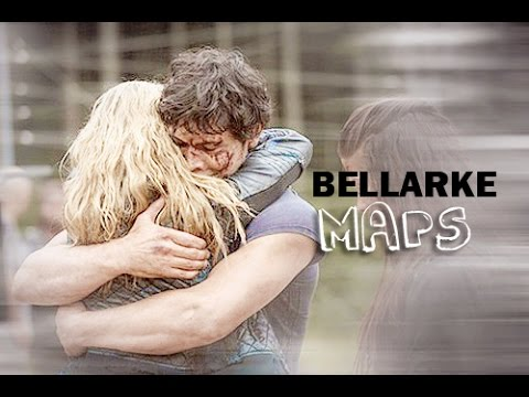 Bellamy/Clarke ~ Following the map that leads to you~