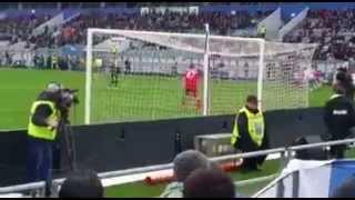 Sassuolo Lazio 0-3 gol di Felipe Anderson dalla Curva Ospiti