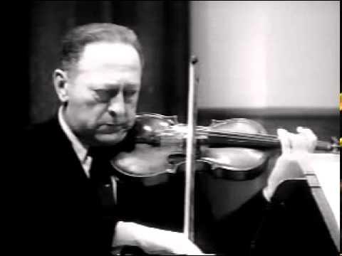 Heifetz Masterclass 3 - violin