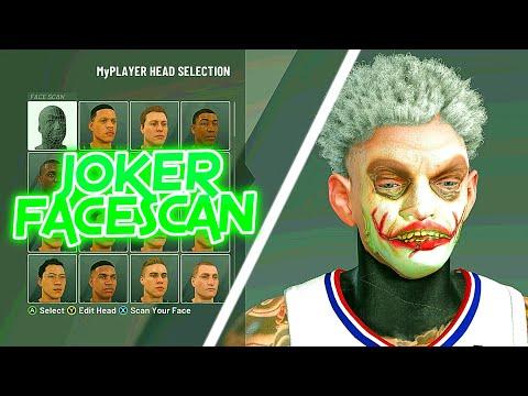 HOW TO GET JOKER FACESCAN | FREE FACESCANS | NBA2K20