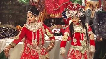 कृष्ण जन्माष्टमी स्पेशल भजन - तेरी मेरी कहां जोड़ी कान्हा तू कारौ मैं गोरी - Krishan Radha Dance