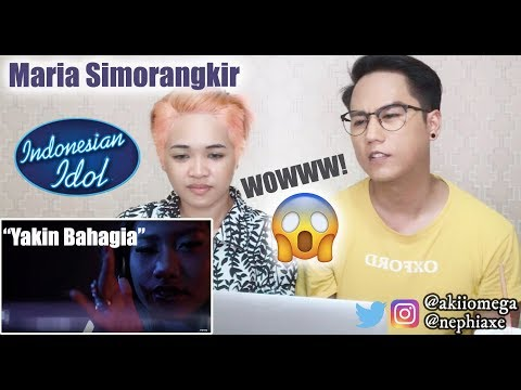Singers React to Maria Simorangkir - Yakin Bahagia (Official Music Video) | REACTION
