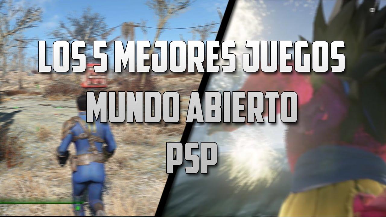 Los 5 Mejores Juegos A Mundo Abierto De Psp Luigi2498 Youtube