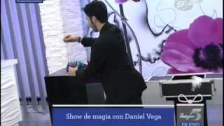 Las Mañanas del 5- Las Mañanas del 5: espectaculares trucos del Mago Daniel Vega