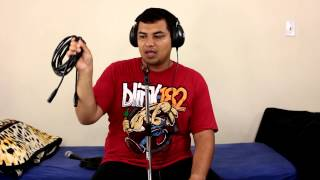 Cheap Microphone Cable Versus Expensive Microphone Cable Demonstration