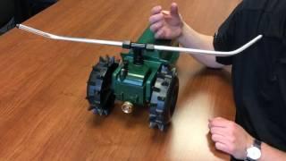 Adjust Arms on Orbit Traveling Sprinkler