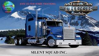 10 Hour`s Of Trucking (Silent Squad Inc.)   American Truck Simulator