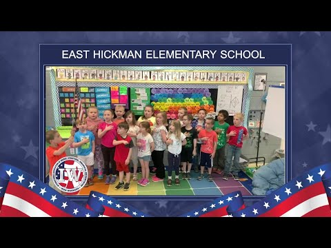 The Morning Pledge - East Hickman Elementary School - 5/2/2019