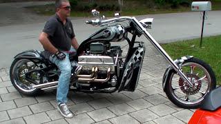 V8 CHOPPER - 425HP V8 CORVETTE 5,7L...TURN UP THE VOLUME!