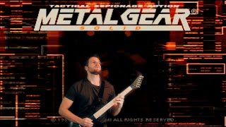 Metal Gear Solid - Main Theme (Metal/Rock Guitar Cover Remix)