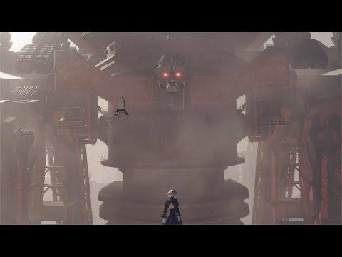 NieR: Automata - All Bosses (Route A) [No Damage]