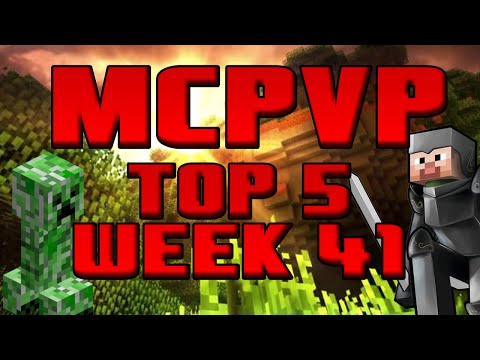 Minecraft PVP Top 5 [Week 41] Ravine Battle
