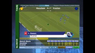 (PS2) Championship Manager 2006 [Gameplay] [pcsx2]