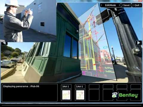 Augmented Reality for construction drawings