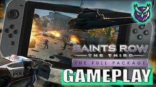 Saints Row: The Third Switch Gameplay Docked & Handheld