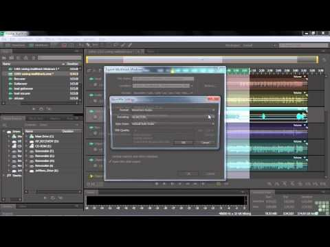 Adobe Audition CS6 Tutorial | Mixdown and Multi-track Production | InfiniteSkills