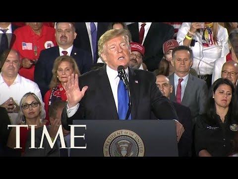 President Trump Warns