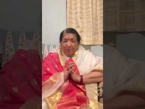 Lata Mangeshkar Live Diwali wishes 2017