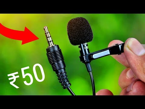 Cheap And Best Mic For YOUTUBE ! 50Rs Vs 7000Rs Mic !