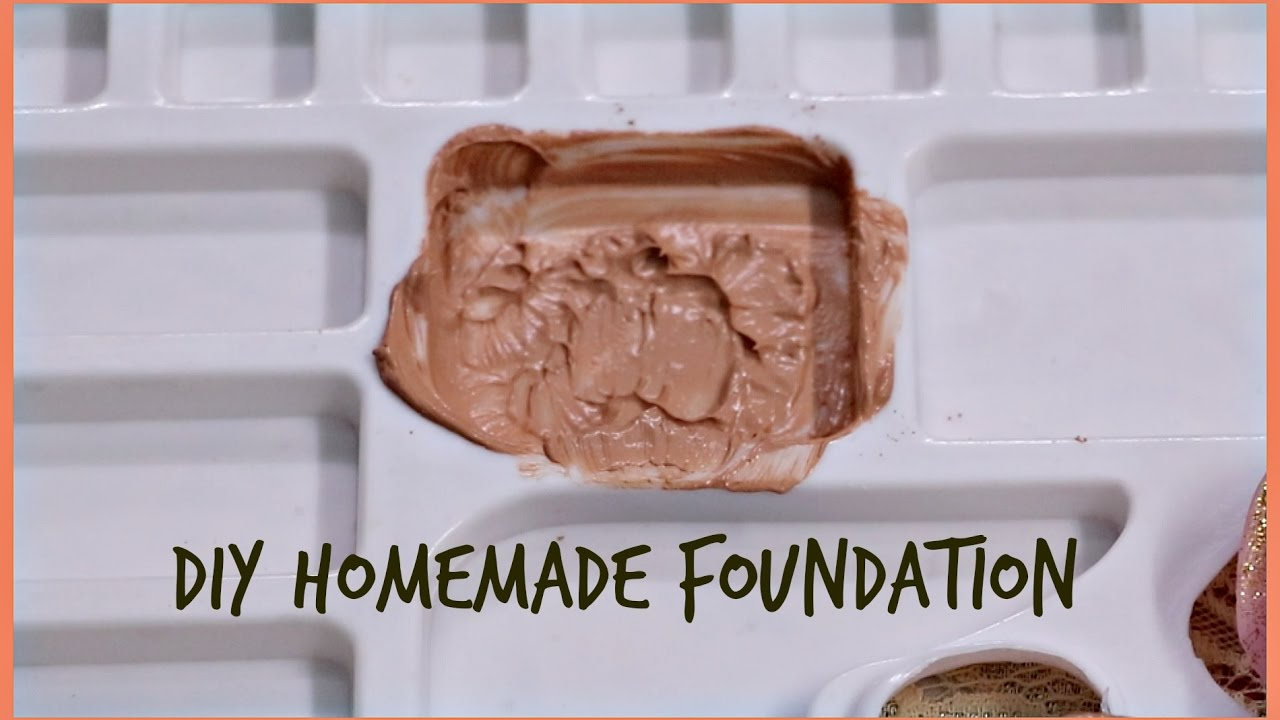 DIY Homemade Foundation : How To Make Foundation At Home Using Affordable  Products