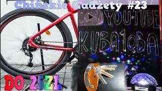 6 CHIŃSKICH MEGA GADŻETÓW DO 25ZŁ Stojak rowerowy, Tablica z kredą #23