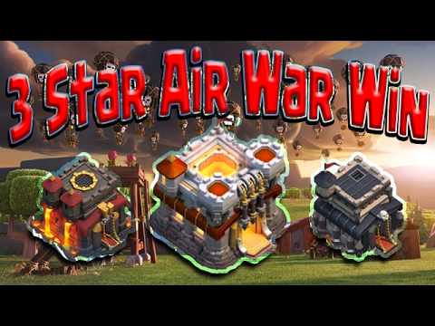3 STAR Attacks TH9 TH10 TH11. Air Loons OP WAR Best Attack Clash of Clans