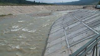 Русло реки Подкумок под Кисловодском продолжают укреплять