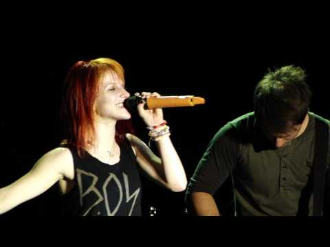 Paramore - You Ain't Woman Enough (To Take My Man) - St. Augustine - 9/2/10