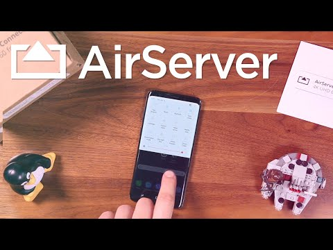 How to screen mirror your Android device to AirServer Connect - YouTube