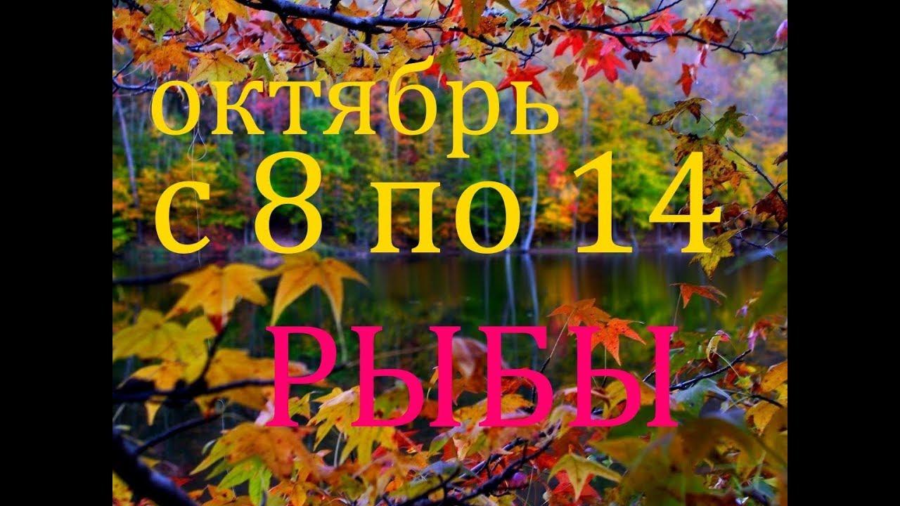 РЫБЫ. ПРОГНОЗ на НЕДЕЛЮ с 8 по 14 ОКТЯБРЯ 2018г.