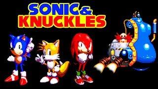 Sonic And Knuckles [Sonic] прохождение Соник И Наклз (Sega Mega Drive, Genesis)