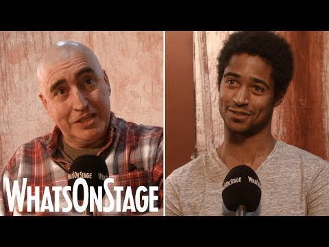 Alfred Enoch and Alfred Molina in Red  West End s