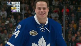 Crosby edges Matthews in accuracy competition