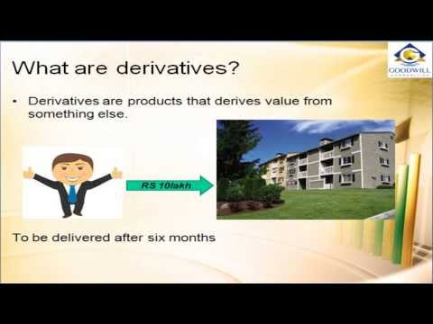 What are Derivative trading? Goodwill Commodities commodity trading tutorial 2-Member MCX India