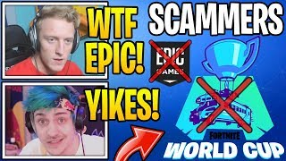 Streamers React To Epic Games *SCAMMING* & NOT GIVING Prize Money To Pro Players!