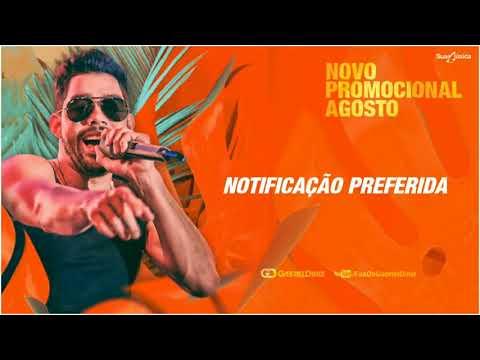 GABRIEL DINIZ - NOTIFICAÇÃO PREFERIDA  Promocional Agosto 2018