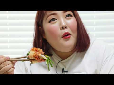 Yang soo bin) 혼자 족발 대짜리 박살내기!!! 띵맛 홀리마마~