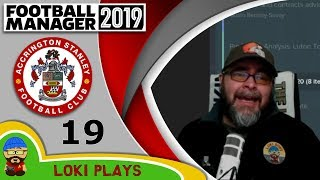 Football Manager 2019 - Episode 19 - Aaargh!! - The Stanley Parable - FM19