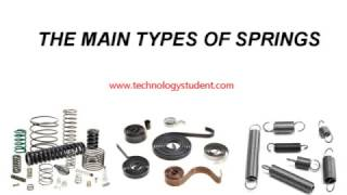 SPRINGS AND THEIR USES