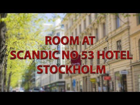 Room at Scandic NO 53 Hotel, Stockholm