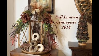 Fall Lantern Centrepiece Challange hosted by Arlynn and Kim | Episode #8