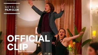 Shut Up And Dance Flash Mob Scene | The Kissing Booth 3 | Official Clip | Netflix