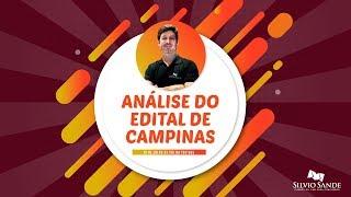 [ISS CAMPINAS] Análise do Edital com Luiz Santiago