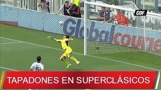 Las mejores atajadas clásicos Colo Colo - U. de Chile
