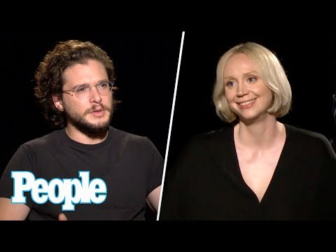 Download Youtube: GOT: Kit Harington, Gwendoline Christie & More On Brienne & Tormund Romance | People NOW | People