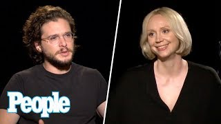 GOT: Kit Harington, Gwendoline Christie & More On Brienne & Tormund Romance | People NOW | People