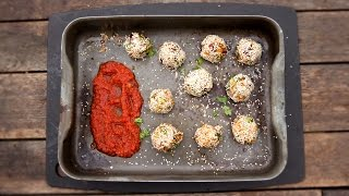 Healthy Baked Sweet Potato Falafel - Feat. The Happy Pear