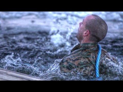 US Marines Jumping Into Ice Water: Cold Weather Training In Norway